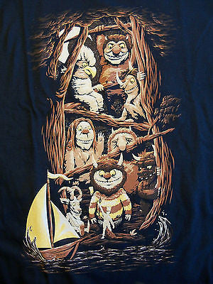 TeeFury T-Shirt - Where The Wild Things Are - New Adult XXL