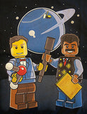 TeeFury T-Shirt -  LEGO Science Bill Nye and Neil deGrasse Tyson - Adult