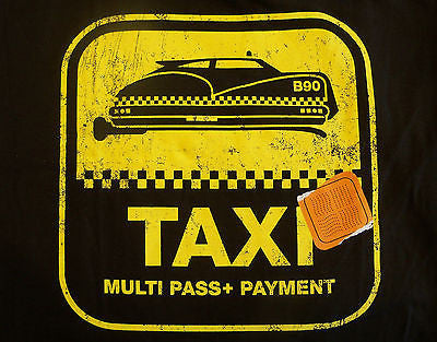 TeeFury T-Shirt - 5th Element B90 Taxi - New Adult XL