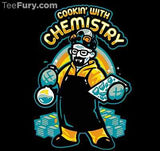 TeeFury T-Shirt - Breaking Bad - Cooking With Chemistry - New Adult M