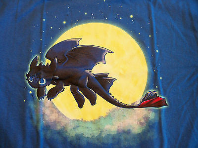 TeeFury T-Shirt - Toothless - How To Train Your Dragon