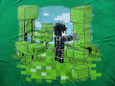 TeeFury T-Shirt - Edward Pixelhands Scissorhands Minecraft Burton - New Adult L