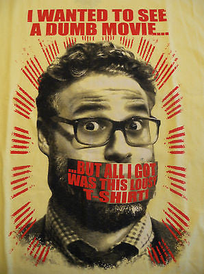 TeeFury - The Interview - Dumb Movie All I Got Was This Lousy T-Shirt - New M