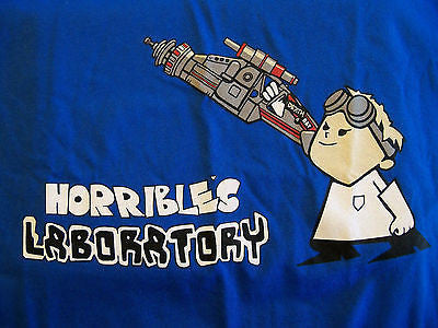TeeFury - Doctor Horrible's Laboratory - Joss Whedon - Dexter's Laboratory - XL
