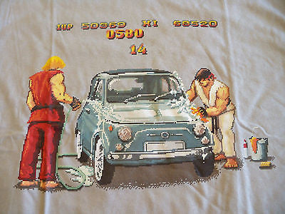 TeeFury T-Shirt - Graphic Tee - Street Fighter Car Wash -  New Adult S