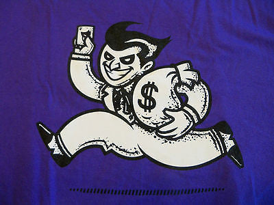 TeeFury T-Shirt - Batman Joker Monopoly - New Adult L