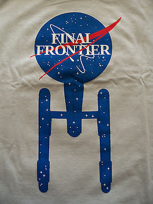 TeeFury T-Shirt - Star Trek The Final Frontier - New Adult XL