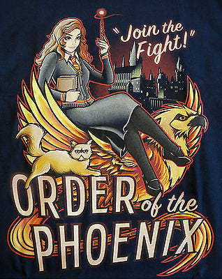 TeeFury T-Shirt - Harry Potter - Hermione Granger Order Of The Phoenix - New M