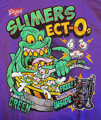 RIPT T-Shirt - Slimer's Ect-Os Ghostbusters - Adult M
