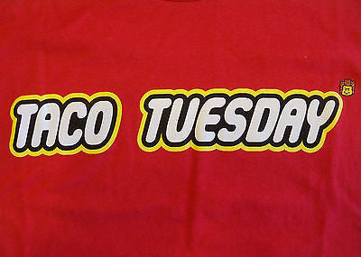 RIPT T-Shirt - Taco Tuesday - The LEGO Movie - Adult