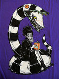 TeeFury T-Shirt - Beetlejuice - Lyds And Worm - New S