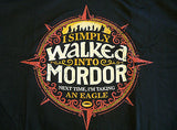 TeeFury T-Shirt - Lord Of The Rings - I Simply Walked Into Mordor - New Adult XL