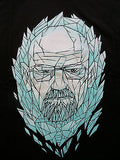 TeeFury Graphic Tee T-Shirt -  Breaking Bad King Of Kings - Glow - New Adult XL