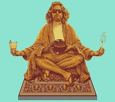 TeeFury - T-Shirt - The Dude - Big Lebowski - New - Adult S