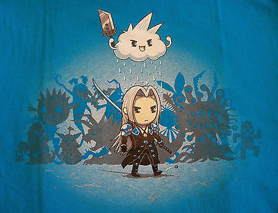 TeeFury T-Shirt - Final Fantasy - Bad Guy Blues - New Adult S
