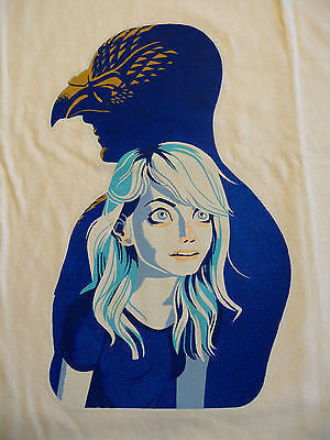 TeeFury T-Shirt - Unexpected Virtue - Birdman - Emma Stone - New Adult L