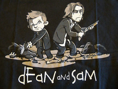 RIPT T-Shirt - Dean & Sam - Adult S