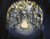 TeeFury T-Shirt - Nightmare Before Christmas - Halloween Tale - New Adult S Navy