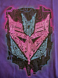 TeeFury T-Shirt - Graphic Tee - Transformers - New Adult S - Purple