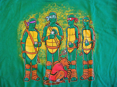 RIPT T-Shirt - King Of The Sewer Ninja Turtles King Of The Hill - Adult M