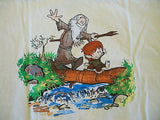 TeeFury T-Shirt - Calvin & Hobbes Hobbit LOTR - New - Adult XL