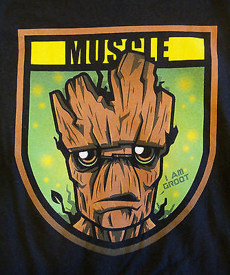 RIPT T-Shirt - Muscle Groot Guardians Of The Galaxy - Adult