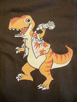 TeeFury T-Shirt - Firefly Serenity Dinosaur T-Rex Whedon - New - Adult M