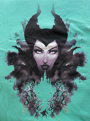 TeeFury T-Shirt - Forest of Thorns - Maleficent - Sleeping Beauty Jolie - New M