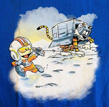 TeeFury T-Shirt - Star Wars - Calvin & Hobbes - New Adult XL