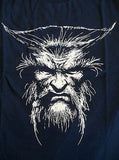 TeeFury T-Shirt - X-Men Wolverine Well Worn Weapon - New Adult S - Navy