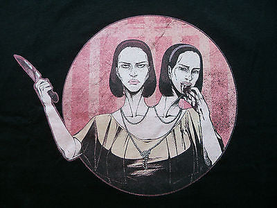 TeeFury T-Shirt - Headliners American Horror Story Freak Show Twins New Adult XL