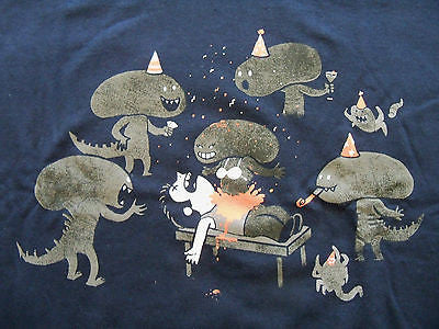 TeeFury T-Shirt - Alien - Aliens Bachelor Party - New Adult XL