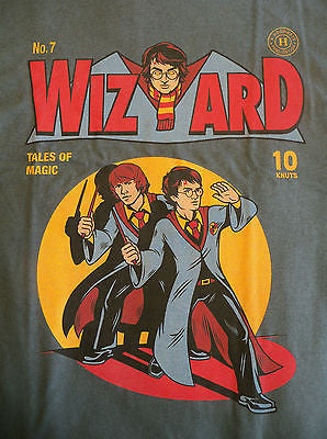TeeFury T-Shirt - Harry Potter - Wizard - Tales Of Magic - New Adult S