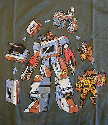 RIPT T-Shirt - Transformers Guardians Of The Galaxy - Adult L