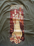 TeeFury - T-Shirt - Graphic Tee Dr Who Inspector Spacetime Geneva - New Adult L