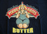 TeeFury T-Shirt - Poovey Farms Butter Pam Archer - New - Adult S