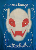 TeeFury T-Shirt - Avengers Ultron No Strings Attached - New Adult L