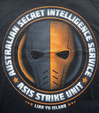 TeeFury T-Shirt - DC - Deathstroke - ASIS Strike Unit - New Adult M