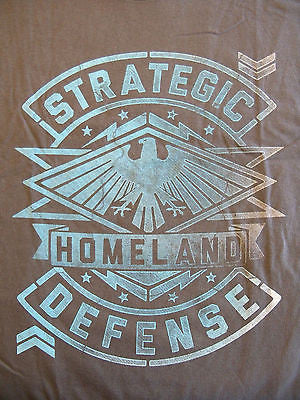 TeeFury T-Shirt - Agents Of Shield - Strategic Homeland Defense - New Adult XL
