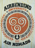 TeeFury T-Shirt -  Avatar Airbending University Aang Korra - New Adult M