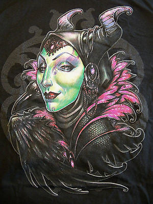 TeeFury T-Shirt - Maleficent - New Adult S