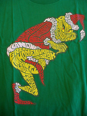 TeeFury T-Shirt - Mean One Grinch Who Stole Christmas Dr Seuss - New - Adult XL