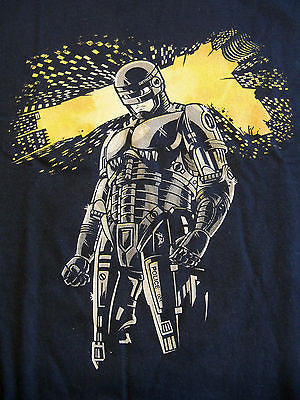 TeeFury - T-Shirt - Robocop - New - Adult XL Blue