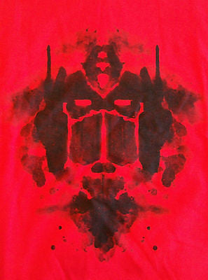 TeeFury T-Shirt -  Inkblot Transformers Optimus Prime - New Adult S