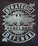 TeeFury T-Shirt - Agents Of Shield - Strategic Homeland Defense