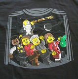 TeeFury LEGO T-Shirt - Science The Musical - Galileo Einstein - New Adult S