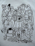 TeeFury T-Shirt - Inklings Collection -  Breaking Bad Characters - New Adult S