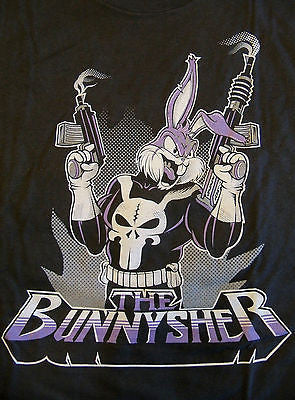 RIPT T-Shirt - The BunnySher - Bugs Bunny The Punisher - Adult XL