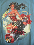 TeeFury T-Shirt - DC - Wonder Woman - Bombshell - New L