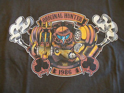 TeeFury T-Shirt - Original Hunter 1986 Steampunk Hunter - New Adult S